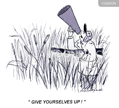 gave up cartoon