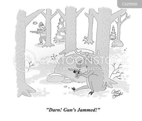 whitetail cartoon