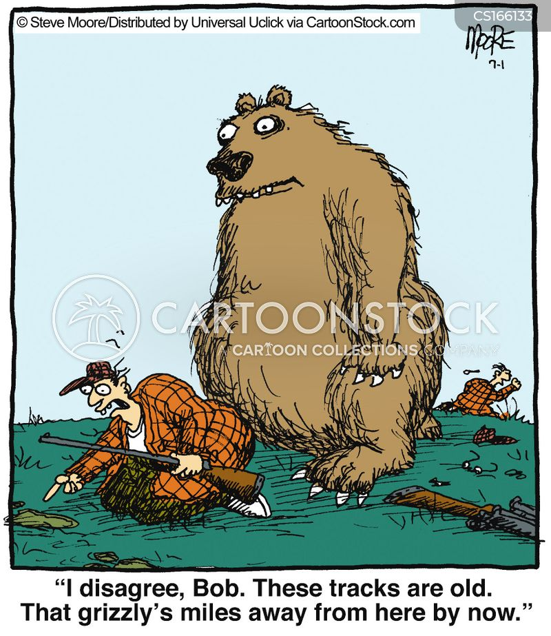 trackers cartoon