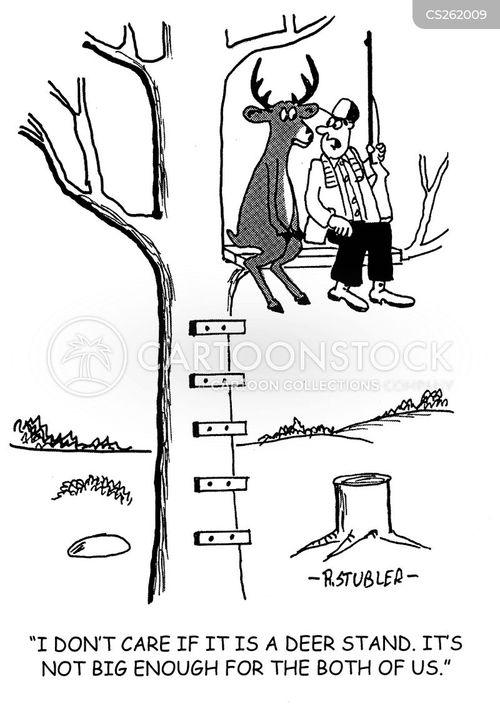 venisons cartoon