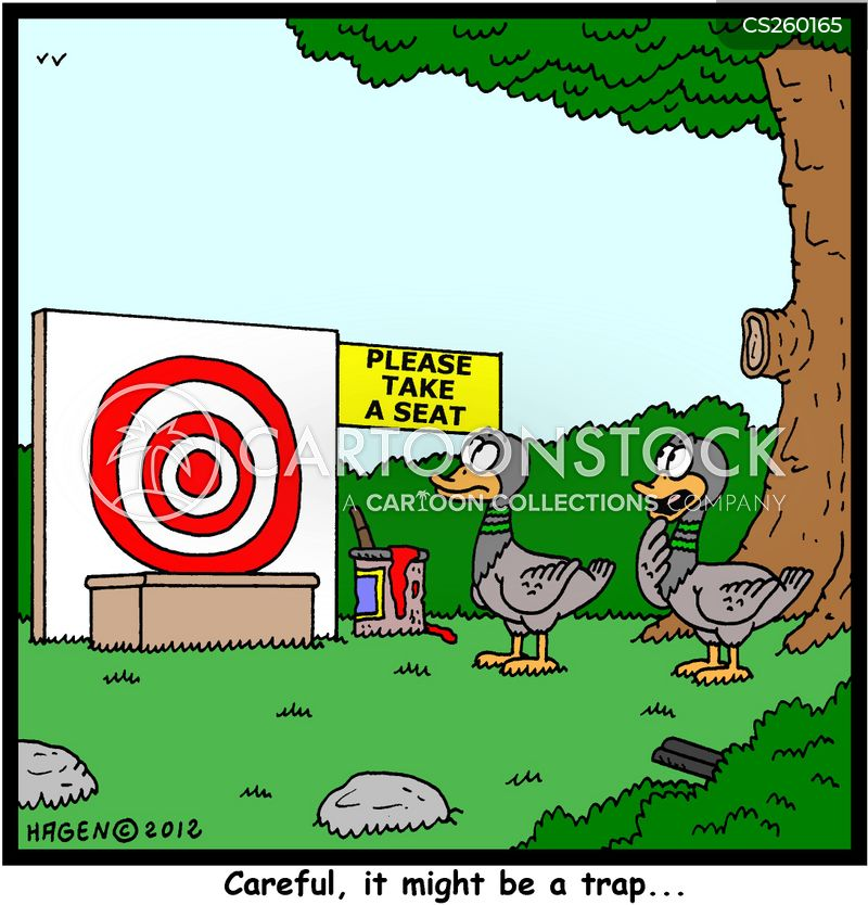 wild duck cartoon