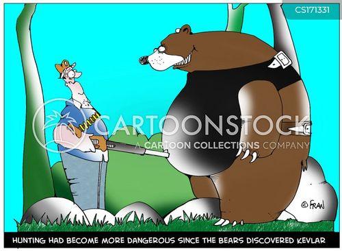 blood sports cartoon