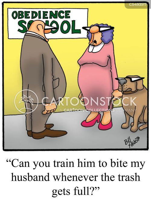 household labour cartoon