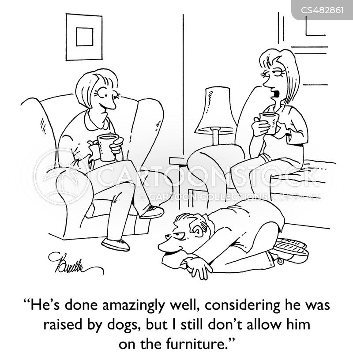 household rules cartoon