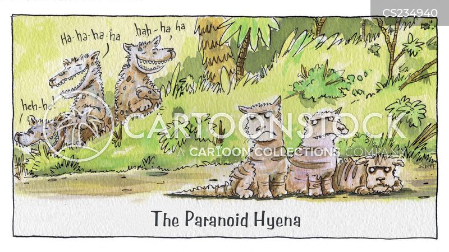 laughing hyena cartoon