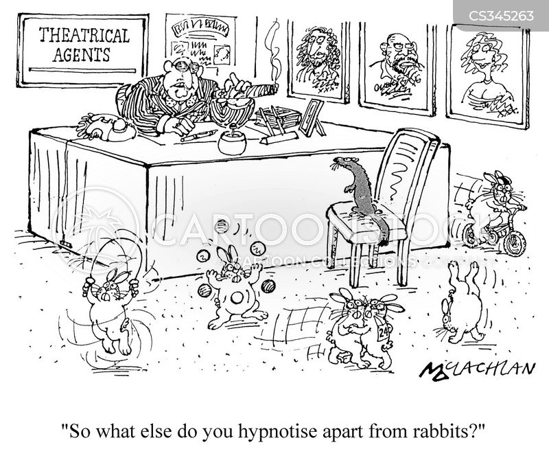 theatrical agents cartoon