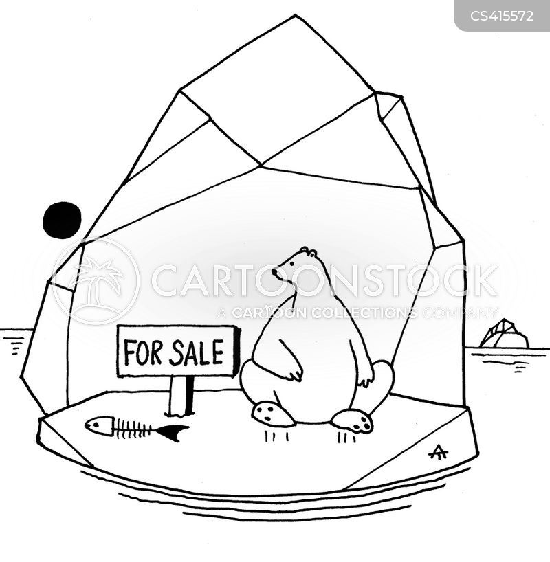 ice-berg cartoon