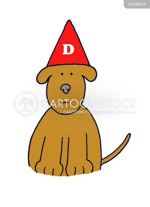 dunces hat cartoon
