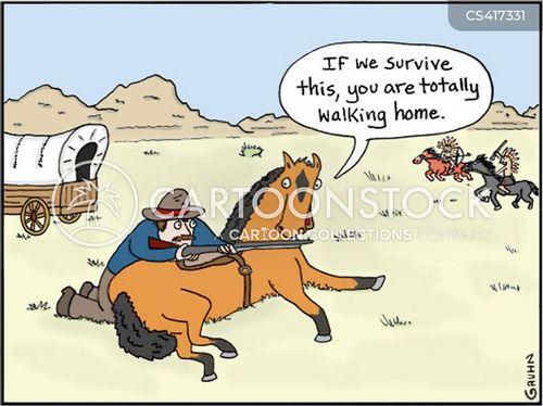 wagons cartoon