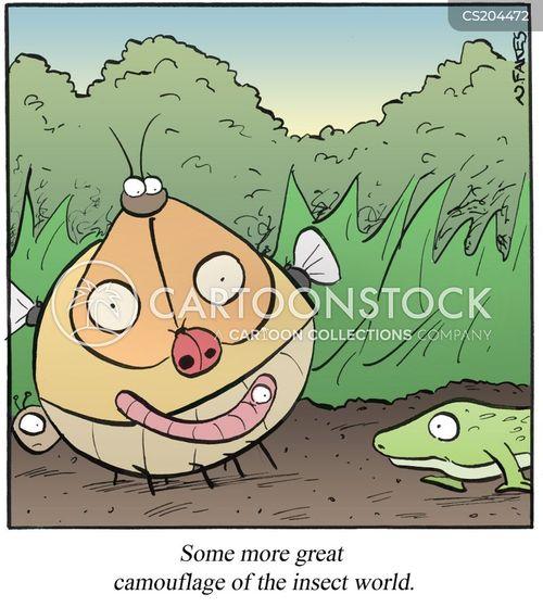 natures cartoon