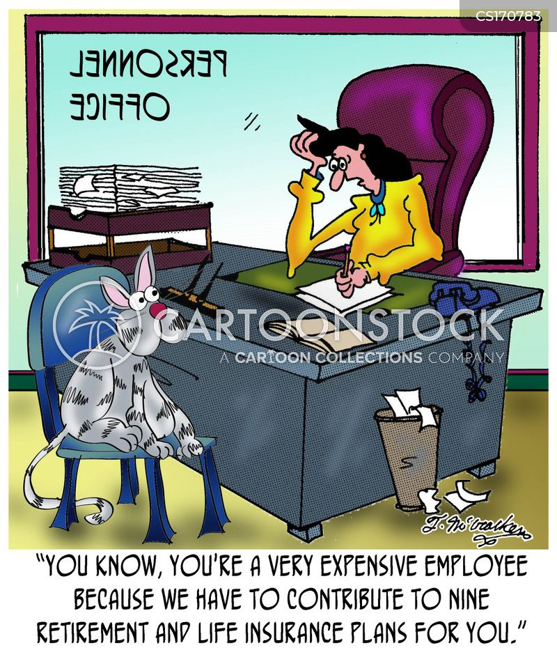 retirement plans cartoon