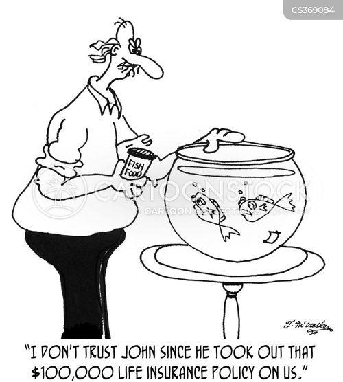 insurance frauds cartoon