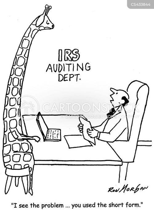 inland revenue services cartoon
