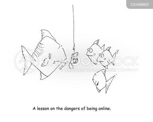 internet use cartoon