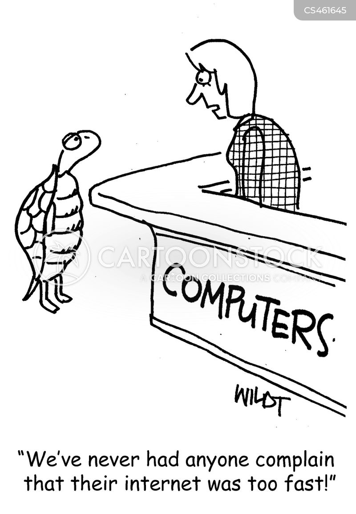 internet service providers cartoon