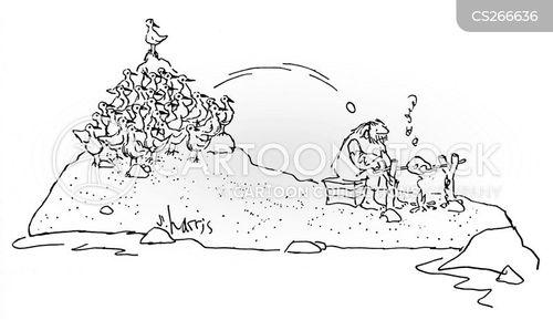 b-b-q cartoon