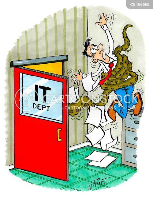 computer department cartoon
