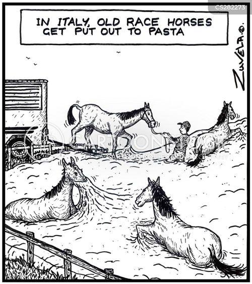pastures cartoon