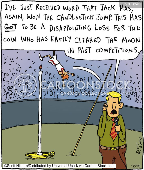 candlesticks cartoon