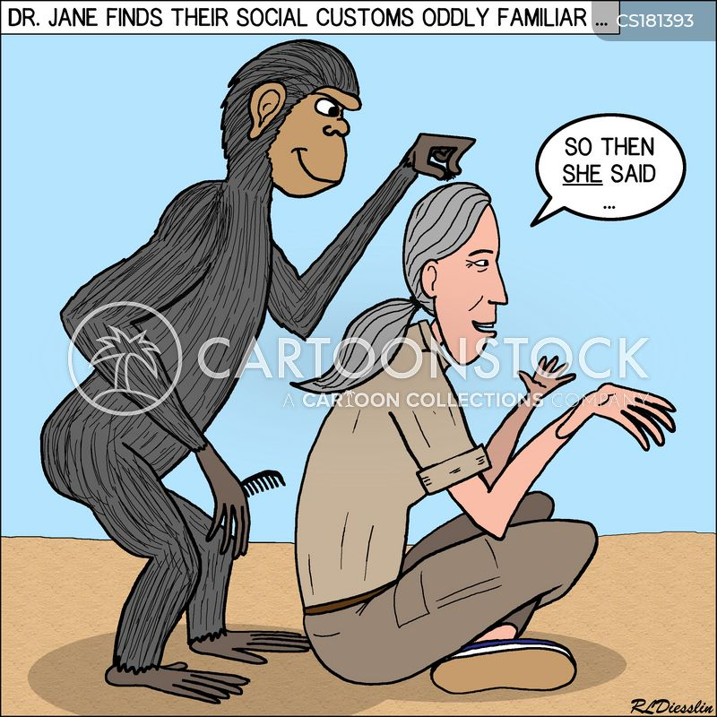 hair dresser cartoon