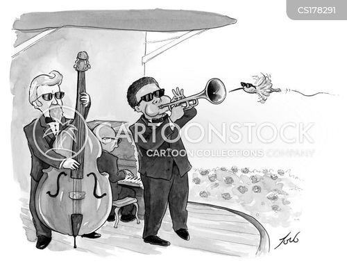 jazz musicians cartoon