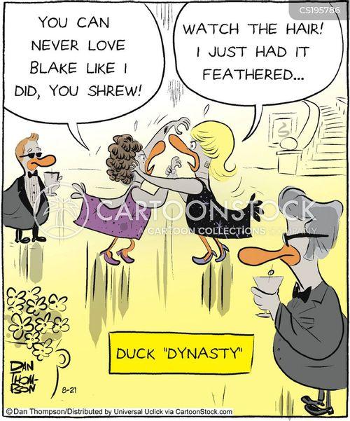 social events cartoon