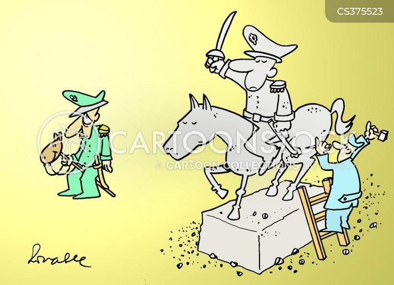army personnel cartoon