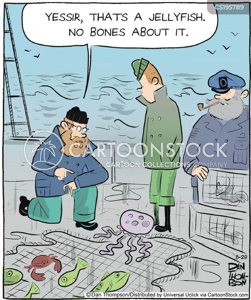 fishery cartoon