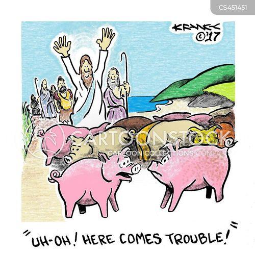 gospel stories cartoon
