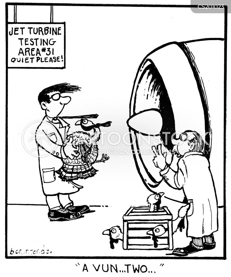 jet turbines cartoon