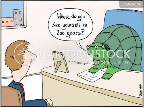 life expectancies cartoon