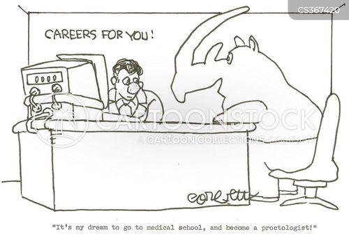 dream careers cartoon