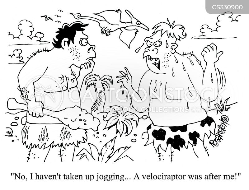 velociraptors cartoon