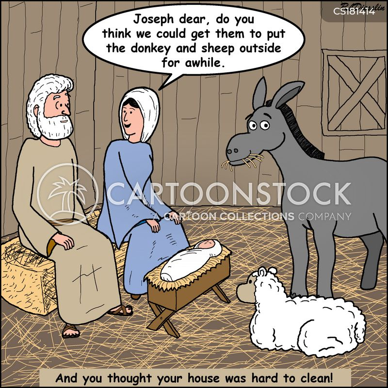 manger cartoon