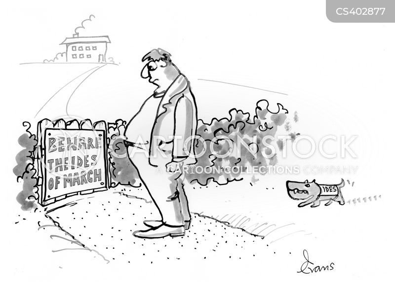 ides of march cartoon