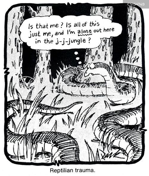 reptilians cartoon
