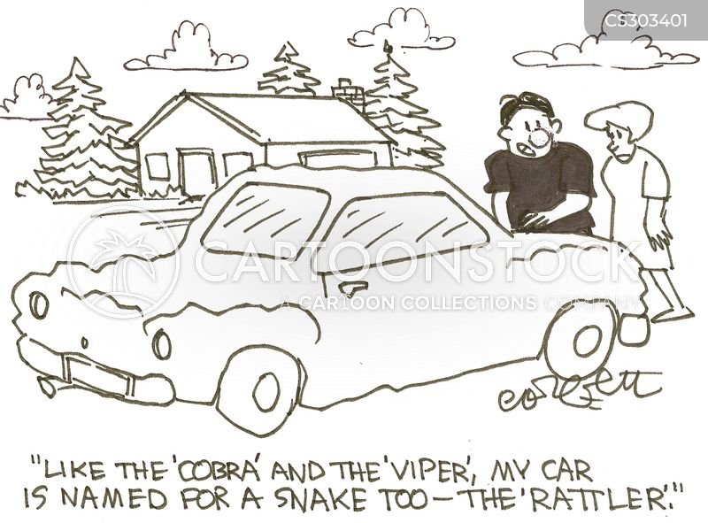 Cars With Snake Names Cartoons and Comics - funny pictures from