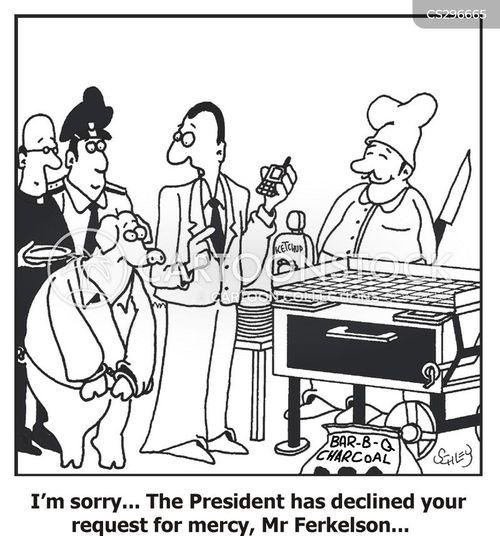 pork chop cartoon