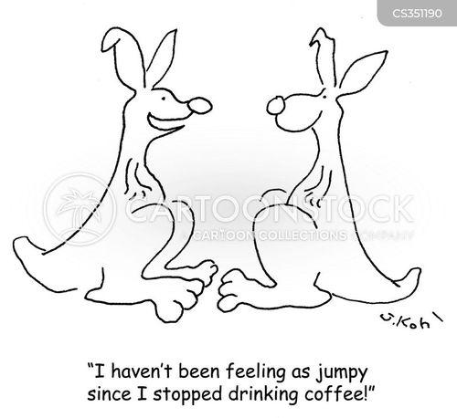 jumpy cartoon