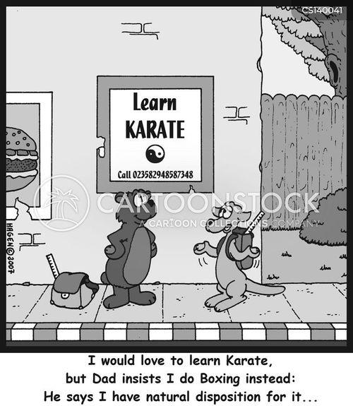 natural talent cartoon