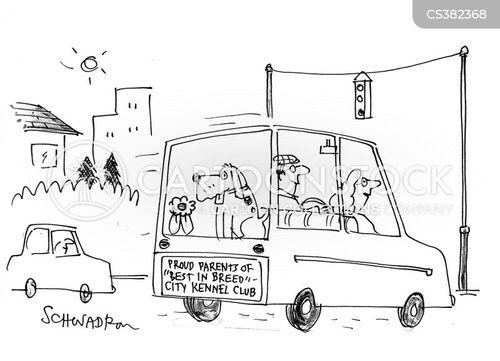 kennel club cartoon