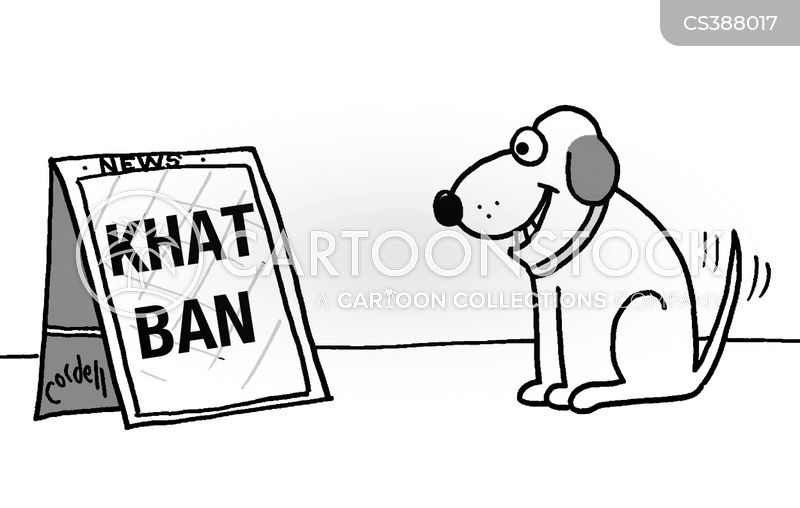 khat ban cartoon
