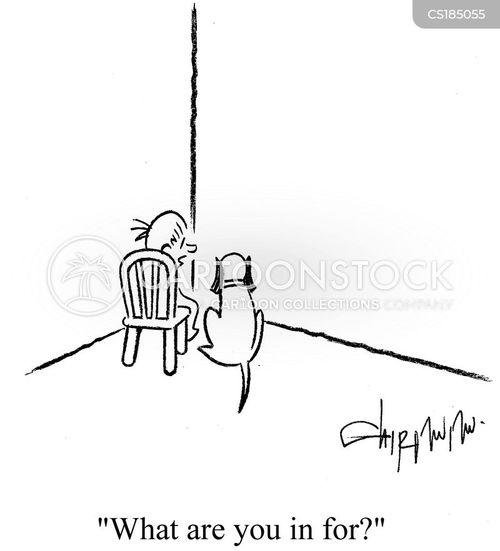 disciplined cartoon