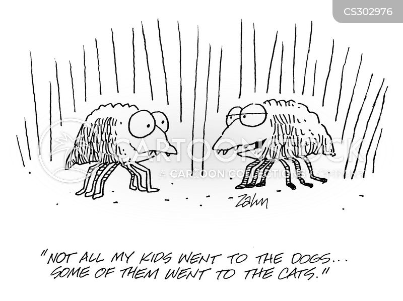 mites cartoon