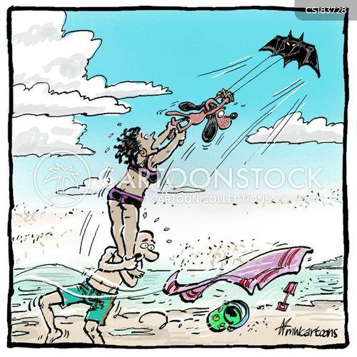 strong winds cartoon