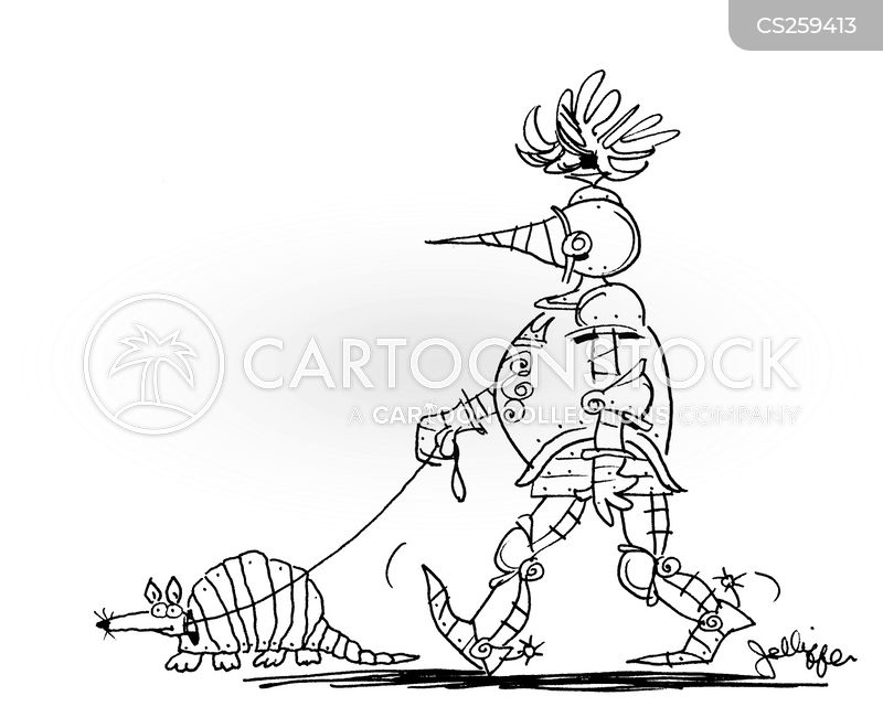 armadillos cartoon