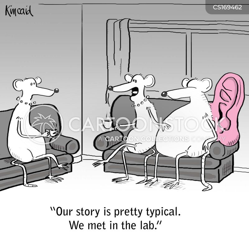 medical testing cartoon