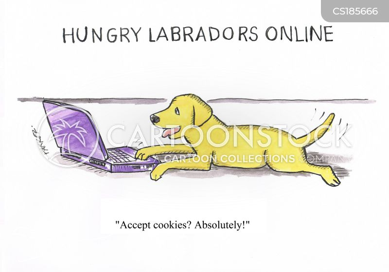 labrador retriever cartoon