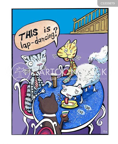 lap dancing cartoon