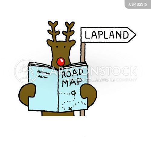 lapland cartoon
